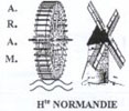 logo de l'association des moulins de Haute-Normandie